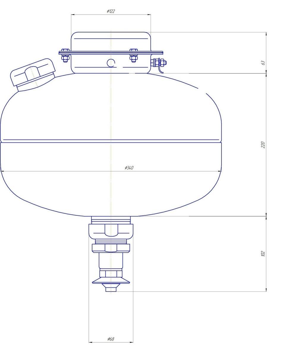 МУПТВ-13,5-ГЗ-ВД Тунгус размер